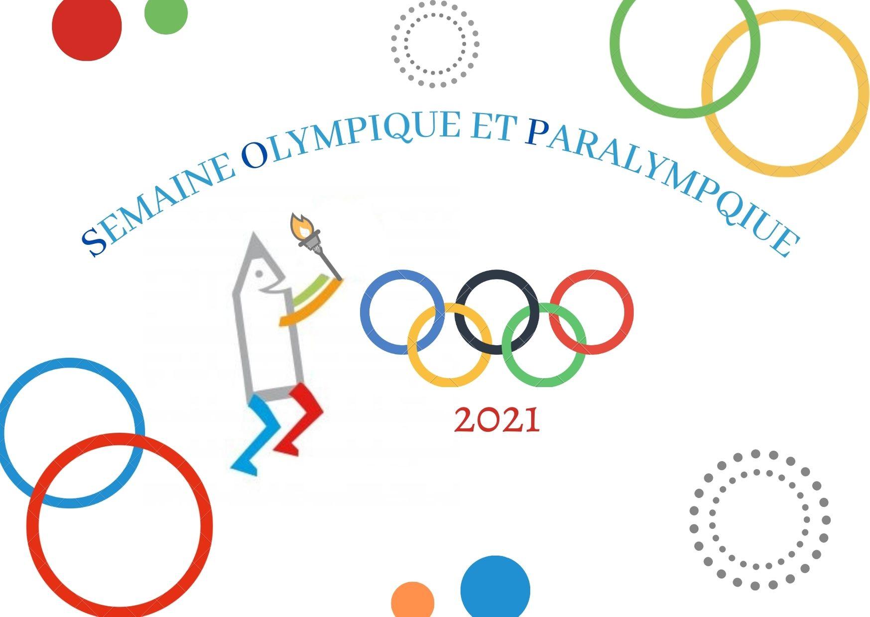 Du 1er au 5 février : Semaine Olympique et Paralympique