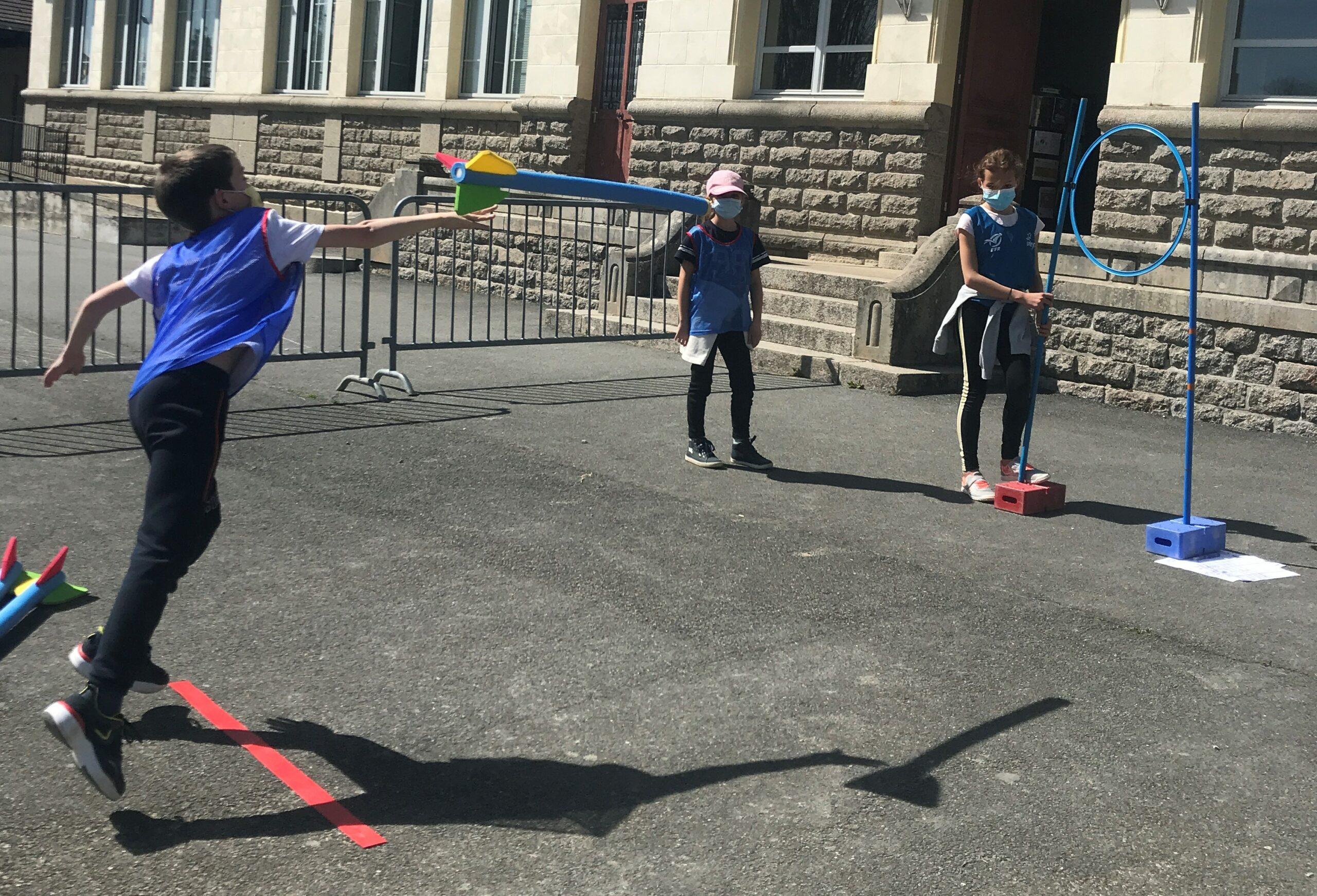 Anim Athlé : les enfants organisent leur rencontre USEP